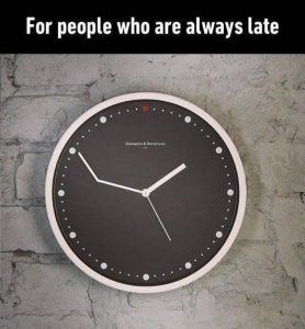 Be On  Time