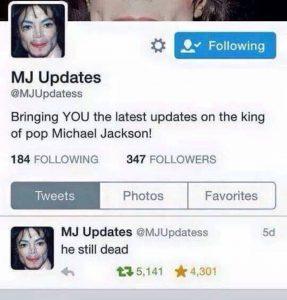 MJ Updates