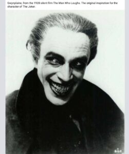 Original inspiration for the Joker
