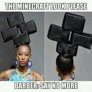 The Minecraft look