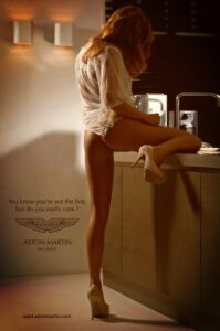 Aston Martin knows how to do ads
