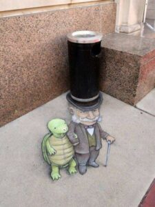 Epic street art