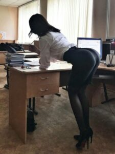 Secretary ass of the day