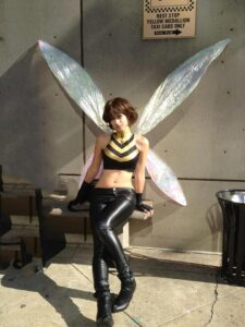 Wasp cosplay