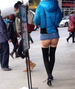 Right length for a skirt